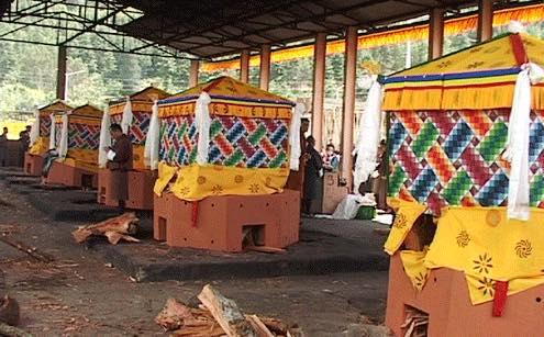 FUNERAL PRACTICES IN BHUTAN