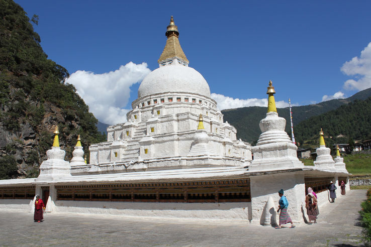 Chorten Kora | Stupa at Trashi Yangtse